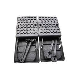 Jumbo Foot Stützplatten 4er Set