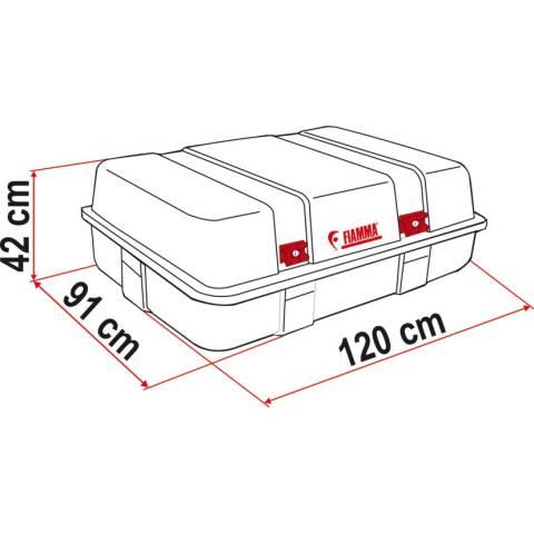 Fiamma Ultra Box 3 Top Dachbox - 400 Liter