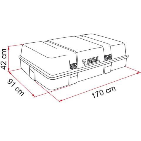 Fiamma Ultra Box 3 Top Dachbox - 520 Liter