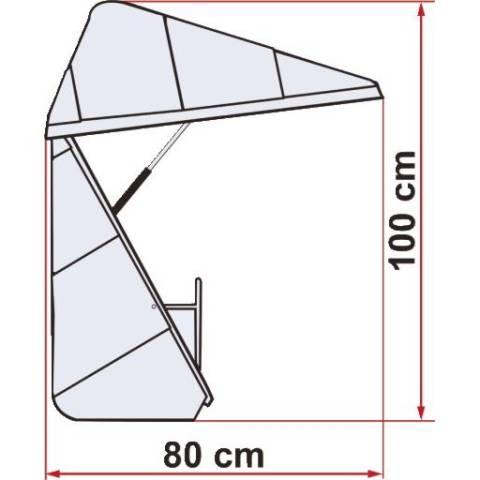 Fiamma Ultra Box Heckbox - 500 Liter