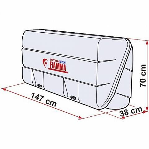 Fiamma Ultra Box Heckbox - 360 Liter