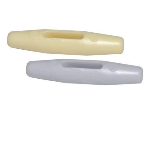 Zeltknebel aus Kunststoff - 10er-Pack