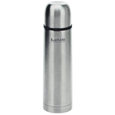 LaPLAYA Isolierflasche aus bruchfestem Edelstahl
