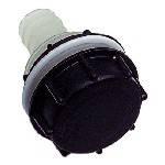 Tankanschluss 50mm mit Kontermutter und Schraubkappe DIN61
