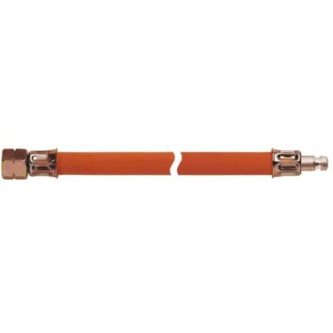 Gasschlauch kältebeständig - 30cm - G 1/4 LH-ÜM x Stecktülle