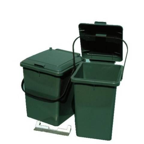 m lleimer 8 liter mit befestigungleiste camppartner24. Black Bedroom Furniture Sets. Home Design Ideas