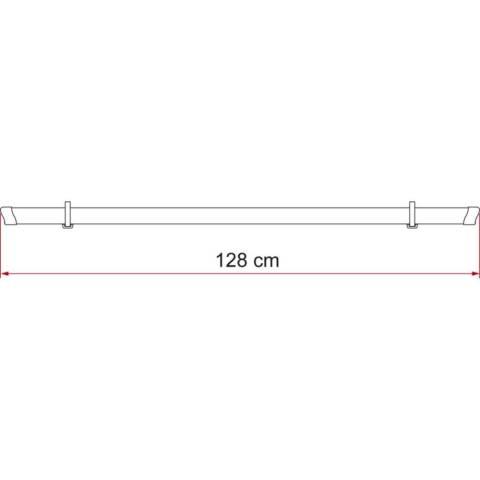 Fiamma Rail Strip Zusatzschiene - rot