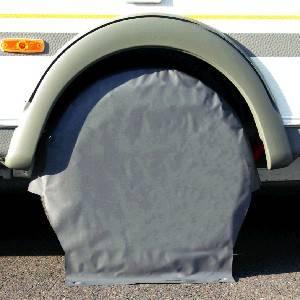 Radschützer aus PVC, verschweißt, grau, mono