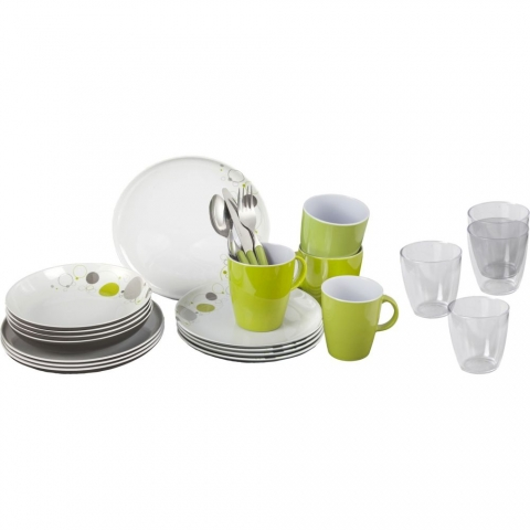 Brunner Space - Geschirr Set - 36-teilig