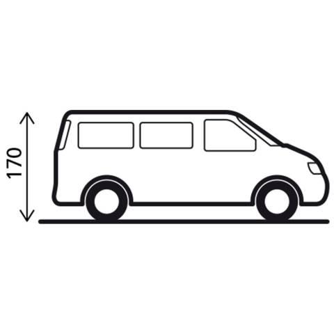 Brunner Pilote Heckzelt für VW Caddy