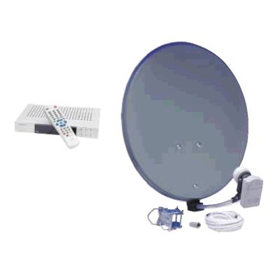 Sat-Anlage Portable 60 cm inkl. Digital-Receiver