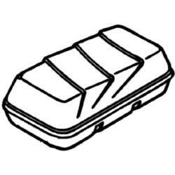 Deckel für Thule Dachbox Top Box 190