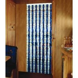 Chenille Türvorhang Flauschvorhang 100 x 205 cm - für Zelt und Balkon
