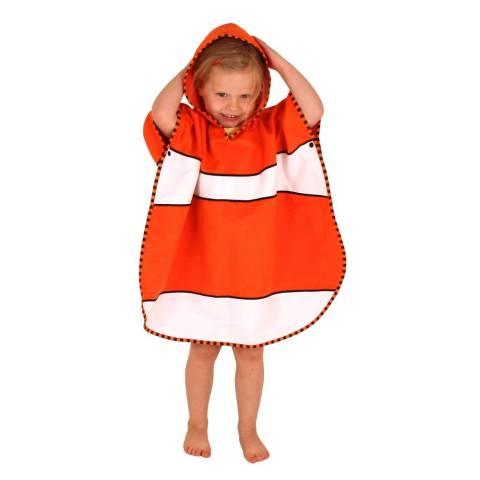 LittleLife Kinderponcho - Clownfish