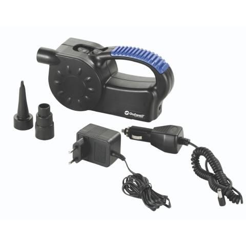 Outwell Tornado elektrische Luftpumpe mit LED 12V 230V