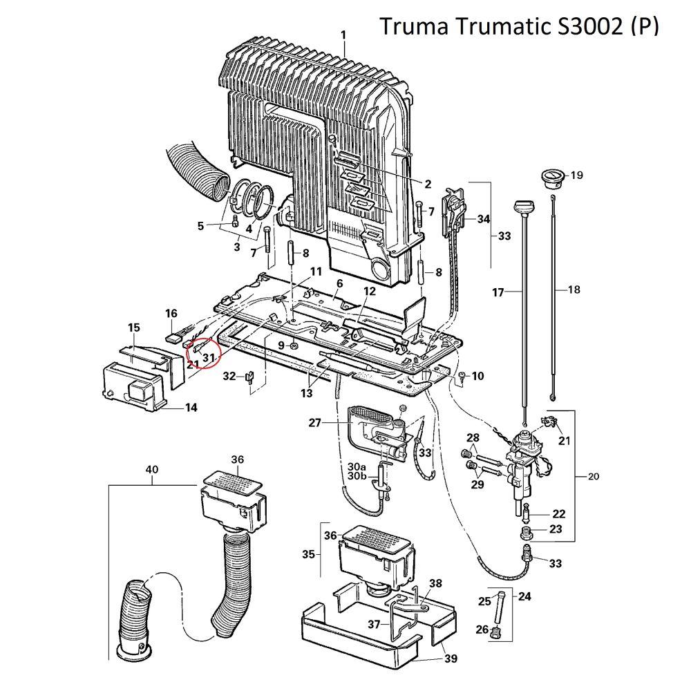 truma flachsteckh lse 2 8mm. Black Bedroom Furniture Sets. Home Design Ideas