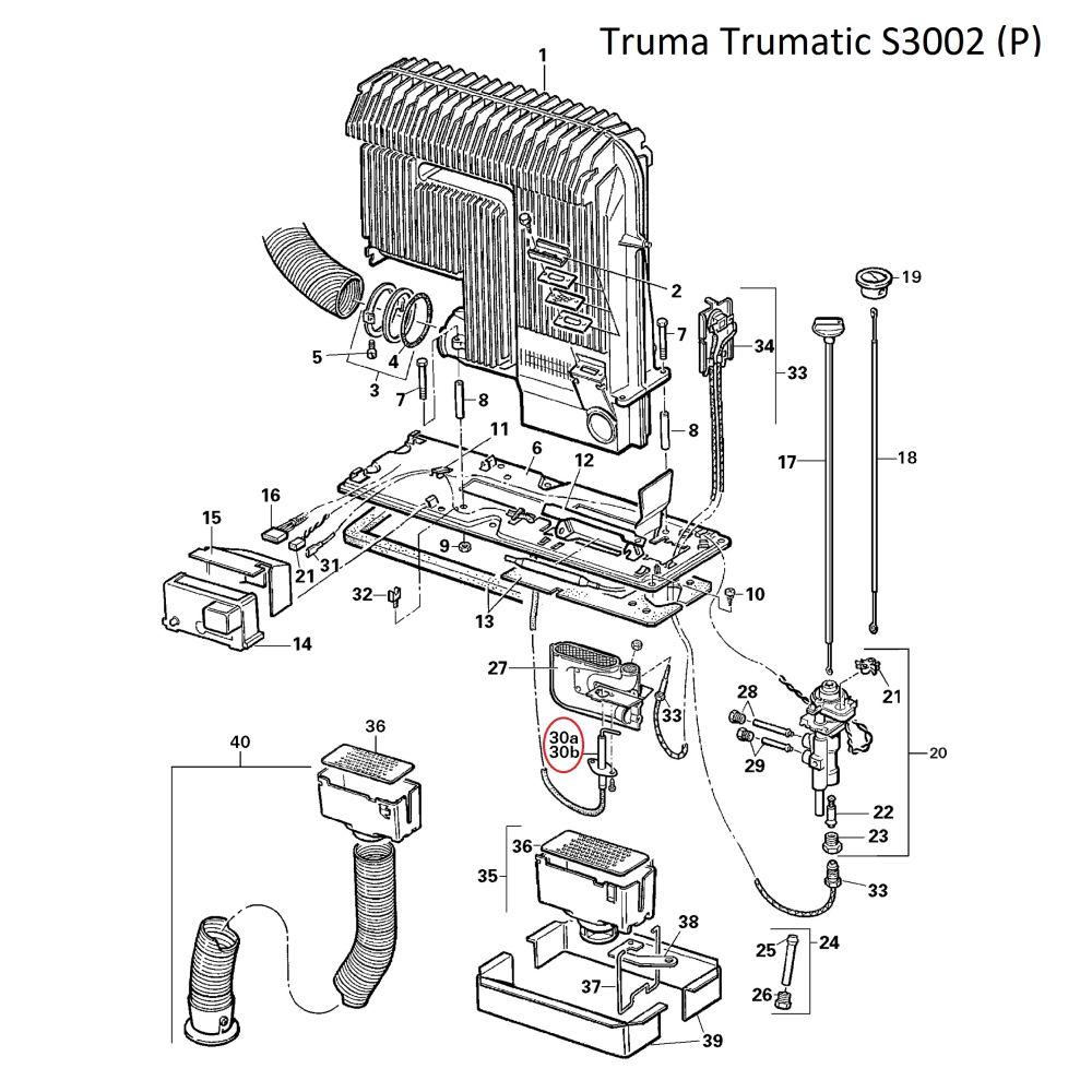 truma s 2200 3002 5002 z ndkerze 75cm. Black Bedroom Furniture Sets. Home Design Ideas