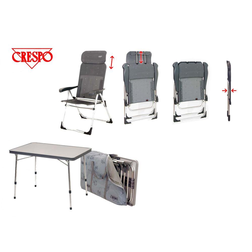 crespo stuhl tischset f r kastenwagen. Black Bedroom Furniture Sets. Home Design Ideas