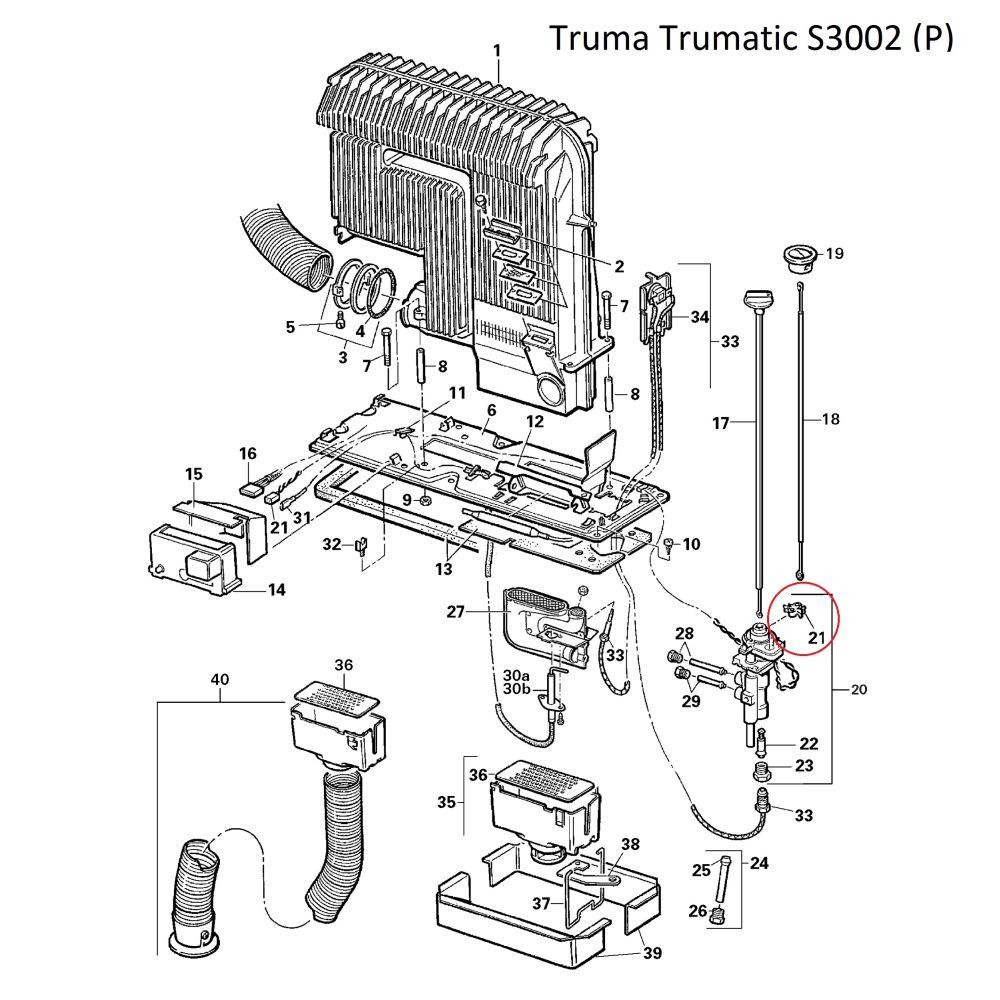 truma trumatic kontaktschalter komplett. Black Bedroom Furniture Sets. Home Design Ideas