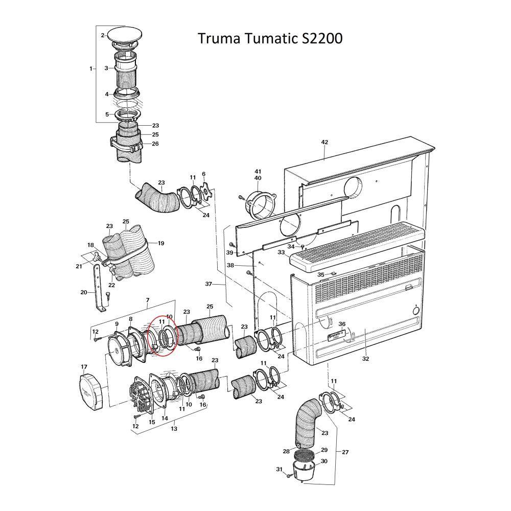 truma trumatic o ring 35 x 5. Black Bedroom Furniture Sets. Home Design Ideas