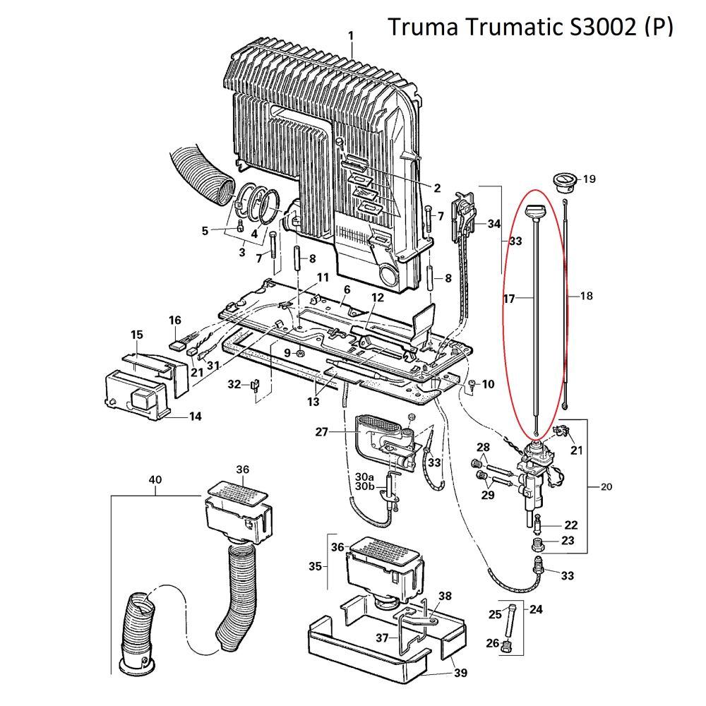 truma trumatic bedienungsset f r s3002. Black Bedroom Furniture Sets. Home Design Ideas