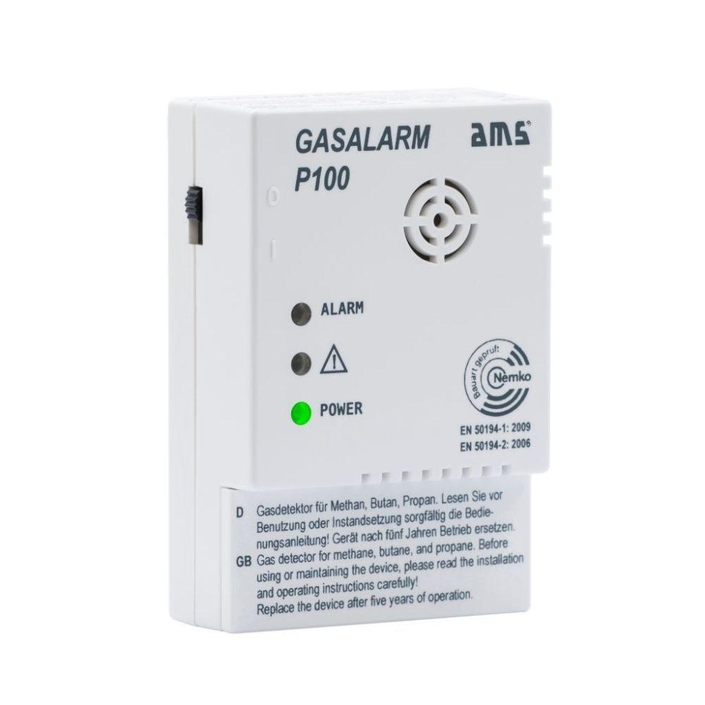Gasalarm P100 mit Schaltausgang