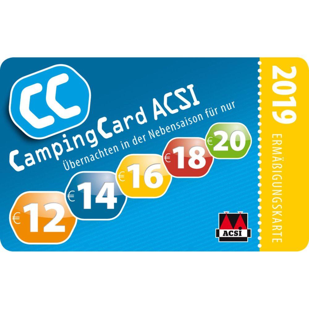 Acsi Karte.Acsi Camping Card 2019