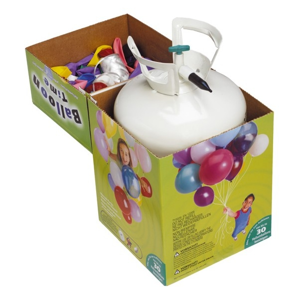 luftballongas set mit 30 luftballons camppartner24. Black Bedroom Furniture Sets. Home Design Ideas