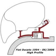 Fiamma Adapter für Markise F65 und F65 S - Ducato bis 06/06
