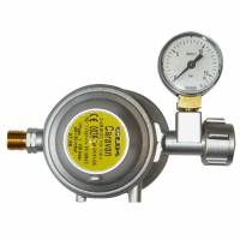 Gok Gasdruckregler EN 61 - 30mbar - 1,5 kg/h mit Manometer