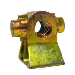 Gewindeblock Alu-Druckguß für normale Steckstützen 16 mm