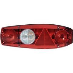 HELLA Caraluna II Rücklicht für Wohnwagen, links, rot