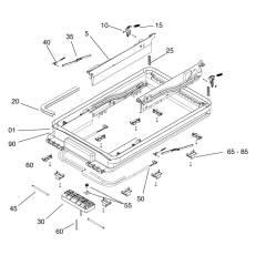 Seitz Midi-Heki Montagebock mit Schraube 35-42mm