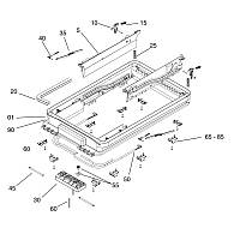Seitz Midi-Heki Außenrahmen komplett für Kurbelversion