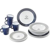 Brunner Nautical - Geschirr Set - 16-teilig