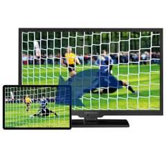 Alphatronics SL-24 DSB-K Flachfernseh mit DVD-Kombination