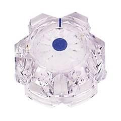Drehknopf für Mischbatterie de Luxe mit blauem Knopf