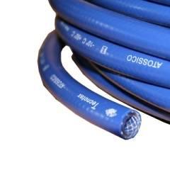 PVC Heißwasserschlauch 10 x 3 mm druckfest blau