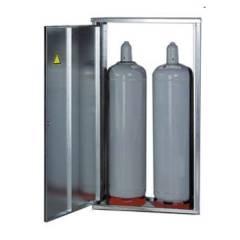Gas Flaschen Schrank für zwei 33 kg Flaschen