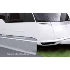 PVC Bodenschürze 50 cm - hellgrau