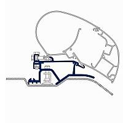 Dometic Adapter für Prostor Markisen 600/350 Duc.07