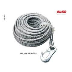 Alko Optima 900, Seil, 20m für Seilwinde bis 900kg