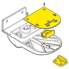 Fiamma Safe Door Distanzplatte für Minivan
