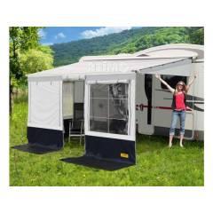 Camp4 Villa Store Premium, L 5,0m, schwarz/grau