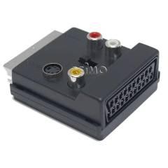 Scart auf Scart-Cinche-SVHS Adapter