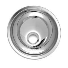 Waschbecken rund Edelstahl, 265mm