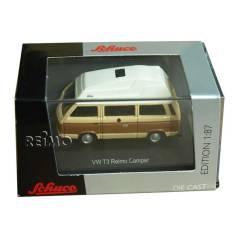 Modellauto VW T3 Bus Camper, Reimo Ausbau mit Hd