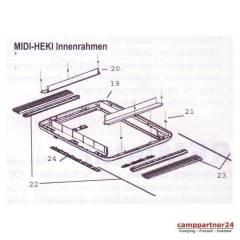 Dometic Seitz Midi-Heki Innenrahmen komplett für Bügelversion