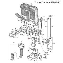 Truma Trumatic Brennerset für S3002 30 mbar