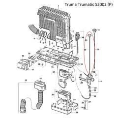 Truma Trumatic Bedienungsset für S3002